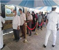 إقبال كبير من الناخبين للتصويت بانتخابات الشيوخ في مصر الجديدة