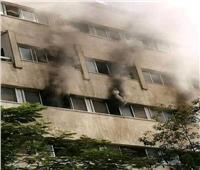 الحماية المدنية والإطفاء تسيطر على حريق بمستشفى صحة المرأة الجامعي بأسيوط