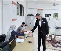 محمد الجارحي يدلي بصوته في انتخابات الشيوخ ويدعو المواطنين للمشاركة