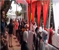 فيديو| «أبويا وصاني» تجمع الناخبين أمام لجان شبرا