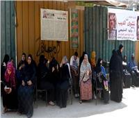 إقبال كثيف من مواطني إمبابة على التصويت بانتخابات الشيوخ