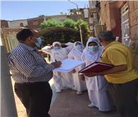 تعافي وخروج ٢٥٩ حالة من مصابي كورونا من مستشفى حميات قنا