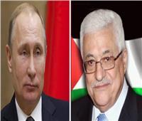"""محمود عباس يهنئ """"بوتين"""" على إنتاج روسيا أول لقاح في العالم لفيروس كورونا"""