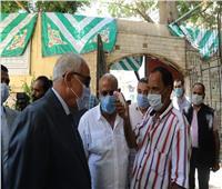 صور| محافظ الجيزة يتفقد سير العملية الانتخابية بلجان جنوب والعجوزة والعمرانية
