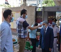 محافظ المنيا يتابع انتظام عملية التصويت بانتخابات مجلس الشيوخ