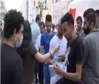 فيديو| ناخبو لجان الجامعة العمالية في مدينة نصر يتحدون كورونا