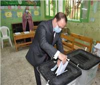 النائب العام يُدلي بصوته في انتخابات مجلس الشيوخ