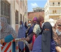 صور| السيدات يتصدرن المشهد الانتخابي بالإسكندرية