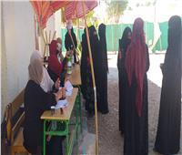 توافد المواطنين على اللجانفي انتخابات الشيوخ بجنوب سيناء