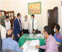 صور| نائب محافظ المنوفية يتفقد عددا من اللجان الانتخابية