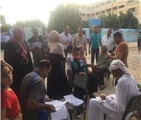 صور  إقبال الناخبين على لجان الإسماعيلية للتصويت في انتخابات مجلس الشيوخ