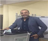شبانة يدلى بصوته بانتخابات مجلس الشيوخ