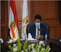 وزير الرياضة يستأنف المشروع القومي للإسكواش