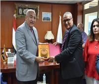 بروتوكول تعاون بين جامعة السادات وهيئة المجتمعات العمرانية الجديدة