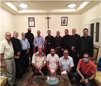 النائب البطريركي يجتمع مع مجلس الرعوي بالإسكندرية