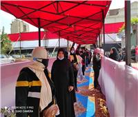"""""""النساء"""" تتقدم صفوف الناخبين بلجنة مدرسة التوفيقية بشبرا"""