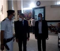 محافظ المنيا يتابع سير عملية الانتخابات فى اليوم التانى