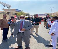 بالصور ..نقيب مهندسي القاهرة يدلي بصوته في إنتخابات مجلس الشيوخ 2020