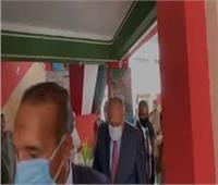 فيديو| وزير الخارجية يدلي بصوته في انتخابات الشيوخ وهذا ما قاله للمواطنين