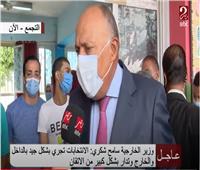 وزير الخارجية يشيد بالتزام المواطنين بالإجراءات الاحترازية في انتخابات «الشيوخ»
