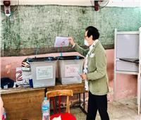 وزير الثقافة الأسبق يدلي بصوته في انتخابات مجلس الشيوخ