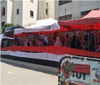 إقبال من الشباب على لجان مصر القديمة في اليوم الثاني لانتخابات مجلس الشيوخ