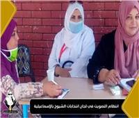 صور| تنسيقية شباب الأحزاب:انتظام التصويت وتطبيق الإجراءات الاحترازية في الإسماعيلية