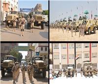 القوات المسلحة تواصل تنفيذ أعمال تأمين انتخابات مجلس الشيوخ 2020