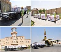 مصر تواصل فتح الجسر الجوى لإرسال المساعدات العاجلة للجمهورية اللبنانية