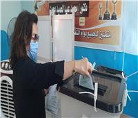 استمرار توافد الناخبين للإدلاء بأصواتهم فى انتخابات الشيوخ بالقاهرة الجديدة