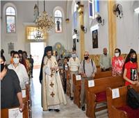 كنيسة الحبل بلا دنس في الإسكندرية تستقبل النائب البطريركي