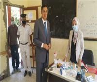 نائب رئيس اللجنة العامة بالإسماعيلية يتفقد لجان أبوخليفة والقنطرة