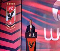 خلال كلمته في حفل افتتاح استاد الأهلي.. الخطيب يوجه الشكر إلى الرئيس