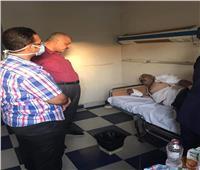 زيارة ميدانية للإطمئنان على الحالة الصحية لمصابي حادث كاترين سعال