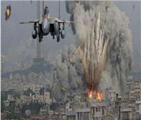 شاهد طائرات الاحتلال الإسرائيلي تشن سلسلة غارات على قطاع غزة
