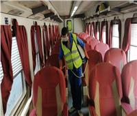 """10 صور ترصد إجراءات """"السكة الحديد"""" ضد كورونا"""