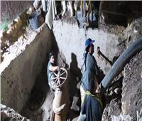 بدء أعمال تغيير محابس محطة مياه غرب سوهاج