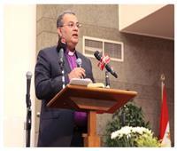 رئيس الكنيسة الإنجيلية يلقي ثاني عظاته بالإسكندرية