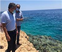 وزير السياحة والآثار يتفقد محمية رأس محمد في شرم الشيخ