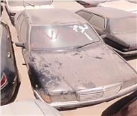 بالصور| تفاصيل جلسة مزاد السيارات المخزنة بساحة جمارك مطار القاهرة
