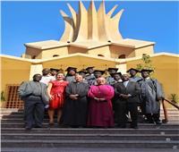 رئيس الكنيسة الأسقفية يحتفل بتخرج دفعة من السودانيين