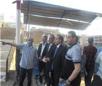أبوالوفا يبدأ خطة تطوير مركز شباب سوهاج بعد زيارة المحافظ
