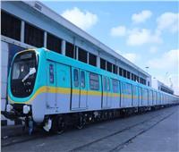 """""""الأنفاق"""": قطارات جديدة تعمل بالمرحلة الرابعة للخط الثالث للمترو عقب الافتتاح"""
