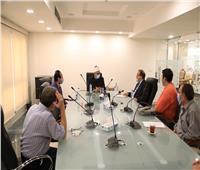 """أمين """"البحوث الإسلامية"""" يلتقي لجنة تنظيم مسابقة الابتعاث العام"""