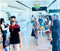 صور| وصول أولى الرحلات السياحية قادمة من رومانيا إلى مطار الغردقة