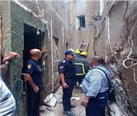 مصرع سيدة وطفلة في انهيار منزل في أسيوط