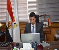 وزير الشباب والرياضة  يصل محافظة الغربية استعدادا لتفقد المنطقة اللوجستية