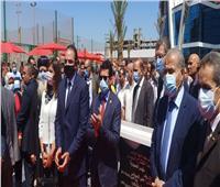انطلاق فعاليات افتتاح المرحلة الثانية من المنطقة اللوجيستية بطنطا بحضور 3 وزراء