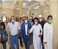 افتتاح مسجد أبوبكر الصديق بمطروح بعد تطويره بتكلفة 1.5 مليون جنيه