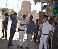 حملة مكبرة بقيادة السكرتير العام لمحافظة الأقصر لإعادة النظام إلى الشارع الإسناوى